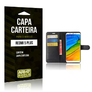 Capa Carteira Xiaomi Redmi 5 Plus - Armyshield