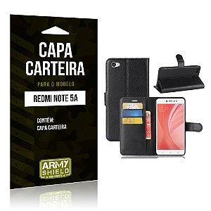 Capa Carteira Xiaomi Redmi Note 5A - Armyshield