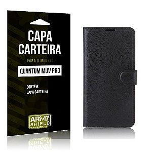 Capa Carteira Quantum Muv Pro - Armyshield