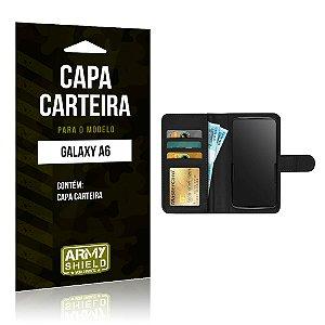 Capa Carteira Samsung A6 - Armyshield