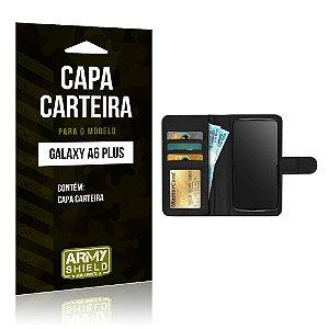 Capa Carteira Samsung A6 Plus - Armyshield