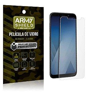 Película de Vidro Samsung A8 - Armyshield