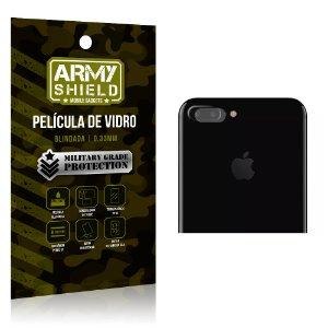 Película de Lente da Câmera Anti Risco Apple Iphone 7 Plus - Armyshield