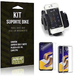 Kit Suporte Moto Bike Zenfone 5 ZE620KL  Suporte + Película + Capa - Armyshield