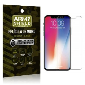 Película de Vidro Blindada Apple iPhone XS Max 6.5 - Armyshield