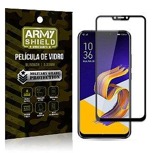 Película de Vidro 3D Cobre a Tela Toda Asus Zenfone 5 - 5Z - ZE620KL-ZS620KL Preta - Armyshield
