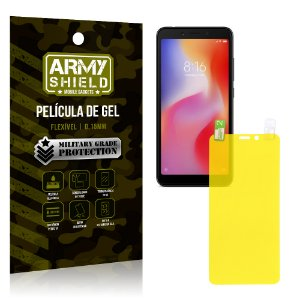 Película de Gel Flexível Xiaomi Redmi 6 - Armyshield