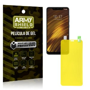Película de Gel Flexível Xiaomi Pocophone F1 - Armyshield