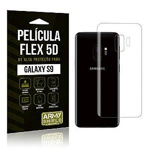Película Flex 5D Traseira Samsung Galaxy S9 - Armyshield