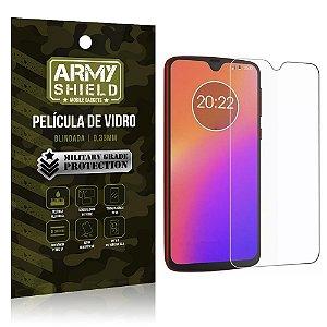 Película de Vidro Blindada Moto G7 - Armyshield