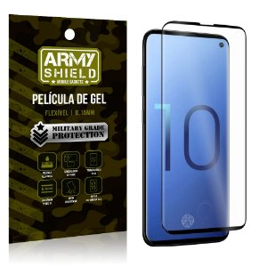 Película de Gel Blindada Galaxy S10 - Armyshield