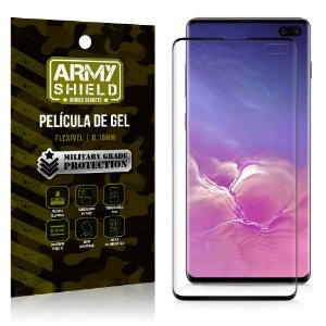 Película de Gel Blindada Galaxy S10 Plus - Armyshield