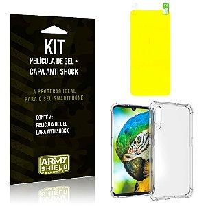 Kit Xiaomi Mi 9 Capa Anti Shock + Película de Gel - Armyshield
