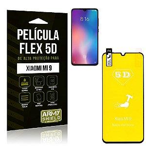 Película Flex 5D Cobre a Tela Toda Xiaomi Mi 9 Preta - Armyshield