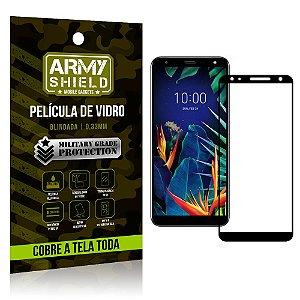 Película de Vidro 3D Cobre a Tela Toda LG K12 Plus Preta - Armyshield