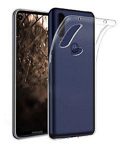 "Capa Silicone Motorola Moto One Vision Tela 6.3"" - Armyshield"