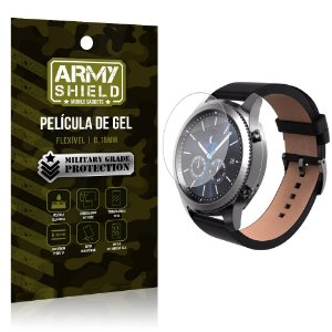 Película de Gel Blindada Smart watch Samsung Gear S3 Frontier - Armyshield