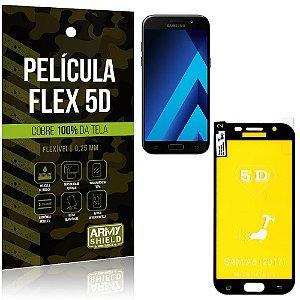 Película Indestrutível Flex Galaxy A5 (2017) Não trinca e cobre a tela toda - Armyshield