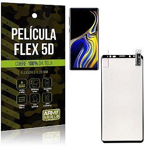 Película Indestrutível Flex Galaxy Note 9 Não trinca e cobre a tela toda - Armyshield