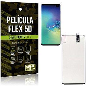 Película Indestrutível Flex Galaxy S10 Plus Não trinca e cobre a tela toda - Armyshield