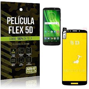 Película Indestrutível Flex Motorola Moto G6 Play Não trinca e cobre a tela toda - Armyshield