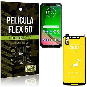 Película Indestrutível Flex Motorola Moto G7 Play Não trinca e cobre a tela toda - Armyshield