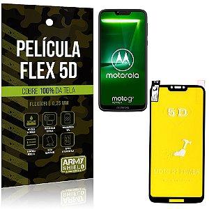 Película Indestrutível Flex Motorola Moto G7 Power Não trinca e cobre a tela toda - Armyshield
