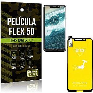 Película Indestrutível Flex Motorola Moto One Não trinca e cobre a tela toda - Armyshield