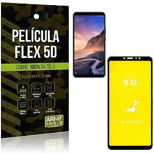 Película Indestrutível Flex Xiaomi Mi Max 3 Não trinca e cobre a tela toda - Armyshield
