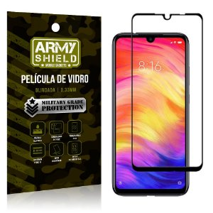 Película de Vidro 3D Cobre Tela Toda Xiaomi Redmi 7 - Armyshield