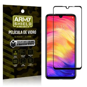 Película de Vidro 3D Cobre Tela Toda Xiaomi Redmi Note 7 - Armyshield