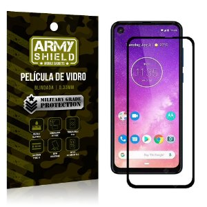 Película de Vidro 3D Cobre Tela Toda Motorola One Vision - Armyshield