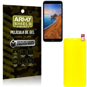 Película de Gel Flexível Xiaomi Redmi 7A - Armyshield