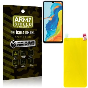 Película de Gel Flexível Huawei P30 Lite - Armyshield