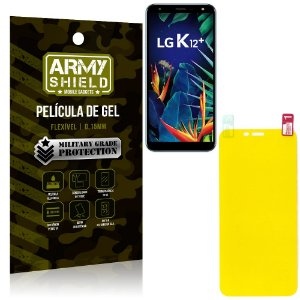 Película de Gel Flexível LG K12 K12 Plus - Armyshield