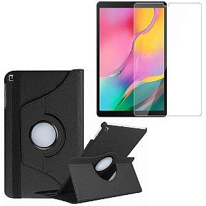 Capa Giratória + Película de Vidro Blindada Samsung Galaxy Tab A 10.1 T515/T510 - Armyshield