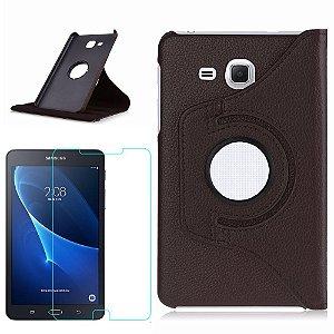 Capa Giratória + Película de Vidro Blindada Samsung Galaxy Tab A 7.0 T280/T285 - Armyshield