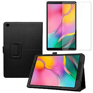 Capa Pasta + Película de Vidro Blindada Tablet Samsung Galaxy Tab A 10.1 T515/T510 - Armyshield