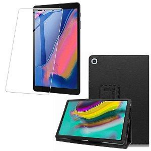 Capa Pasta + Película de Vidro Blindada Tablet Samsung Galaxy Tab A S Pen 8.0 P205/P200 - Armyshield