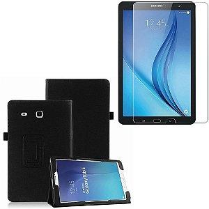 Capa Pasta + Película de Vidro Blindada Tablet Samsung Galaxy Tab E 9.6 T560/T561 - Armyshield