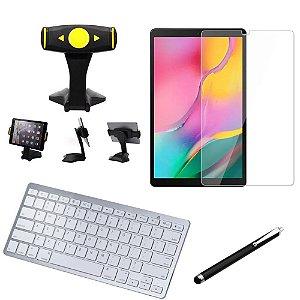 Kit Office Samsung Galaxy Tab A 10.1 T515/T510 Suporte + Teclado + Película +Caneta - Armyshield