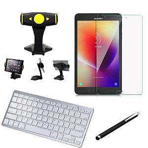 Kit Office Samsung Galaxy Tab A 8.0 T380/T385 Suporte + Teclado + Película + Caneta - Armyshield
