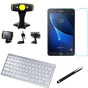 Kit Office Samsung Galaxy Tab A 7.0 T280/T285 Suporte + Teclado + Película + Caneta - Armyshield