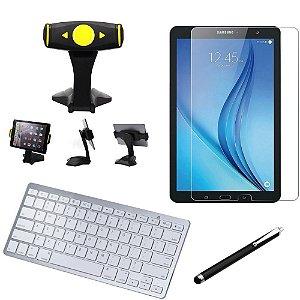 Kit Office Samsung Galaxy Tab E 9.6 T560/T561 Suporte + Teclado + Película + Caneta - Armyshield
