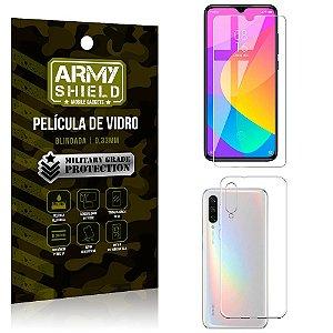 Kit Capa Silicone Xiaomi Mi A3 (CC9e) Capa Silicone + Película de Vidro - Armyshield