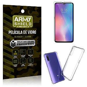 Kit Capa Anti Impacto Xiaomi Mi 9 SE Capa Anti Impacto + Película de Vidro - Armyshield