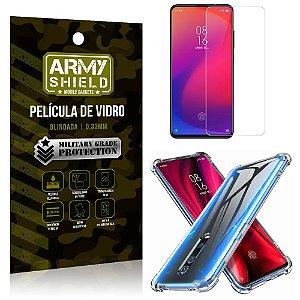 Kit Capa Anti Impacto Xiaomi Redmi K20 Mi 9T Capa Anti Impacto + Película de Vidro - Armyshield