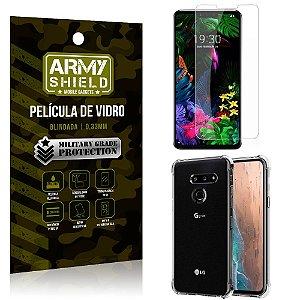Kit Capa Anti Impacto LG G8S Capa Anti Impacto + Película de Vidro - Armyshield