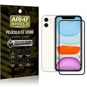Película de Vidro 3D Apple iPhone 11 6.1 Cobre a Tela Toda - Armyshield