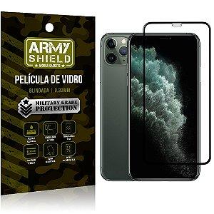 Película de Vidro 3D Apple iPhone 11 Pro Max 6.5 Cobre a Tela Toda - Armyshield